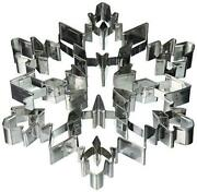 Randm International Snowflake 7.5 Giant Cookie Cutter With Interior Cut-outs