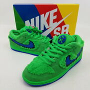 Secondhand Nike Sb Grateful Dead Collaboration Dunk Low Pro Qs Green No.2682