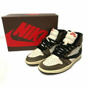 Secondhand Mens Nike Travis Scott Airjordan R High Og Ts Sp Air No.9712