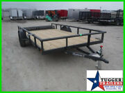 2021 Diamond C Trailers 77x12 12ft Psa Open Toy Work Tool Landscape Bike New