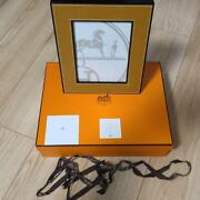 Authentic Hermes Photo Frames Free Shipping No.1726