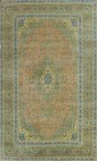 Vintage Floral Ardakan Hand-knotted Area Rug Traditional Oriental Carpet 9and039x13and039