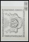 Lot 32348 Collection Unadopted Designs Of Stamps Of United Nations New York.