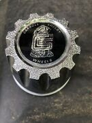 Genuine Carroll Shelby 3-inch 76mm D Wheel Center Hub Cap Cover Used No Defects