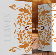Leaves Autumn Edition Collector's White Playing Cards By Dutch Card House Comp