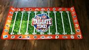 It's Tailgate Time Nfl 2'x4' Vinyl Poster 2003 Pepsi Frito Lay Vintage Ad