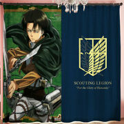 Attack On Titan Indoor Window Curtain Blackout Drapes Set Of 2 Panels Many Sizes