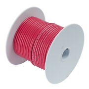 Ancor 112525 Red 6 Awg Tinned Copper Wire 250'