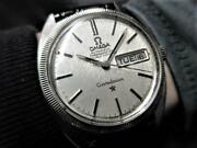 Omega Constellation Wg Solid Bezel Rare Cal.751 Well Maintained Mens No.3565