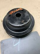 1970 1971 1978 81 Chevrolet Chevy 400 350 454 Crank Pulley Double Sheave Groove