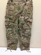 Multicam Flame Resistant Army Combat Pants W/crye Precision Knee Pad Cut Ml Nwot