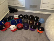 20 New Era Size 7 Fitted Mlb Hats
