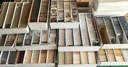 Huge 1700+ Baseball Card Collection Lot W/ Stars Rcandrsquos Hofandrsquos Packs And More
