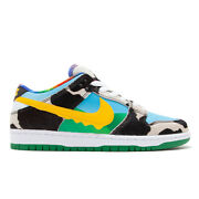 Size 8.5 - Nike Sb Dunk Low Ben And Jerryand039s Chunky Dunky Black/gold/lagoon...