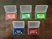 Pokemon Emerald Leafgreen Firered Ruby Sapphire | Nintendo Gba | Tested Repro.