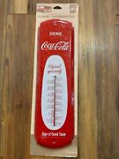 Drink Coca Cola 17 Metal Thermometer Refresh Yourself Sign Of Good Taste