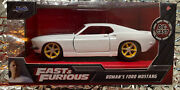 2020 Fast And Furious Roman's Ford Mustang Collectors Series Die-cast 132 Scale