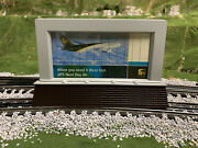 ✅lionel Operating Ups Billboard Accessory 6-34193 Animated Road House Train