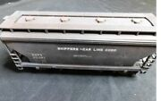 ✅lionel Custom Shippers Car Line 2 Bay  Centerflow Covered Hopper Weathered