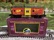 ✅mth Premier Southern Pacific Bay Window Caboose 20-91091 For Diesel Engine