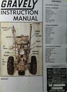 Gravely L Li And Swiftamatic Walk-behind Garden Tractor Owners And Parts Manual 1964