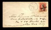 1870s B. C. And F. Rpo Cover / Nice Issue / Crisp Strike - - L28799