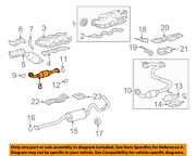 Toyota Oem 2012 Tacoma 4.0l-v6 Exhaust System-front Pipe 174100p360