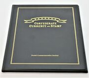 Confederate Currency And Stamp In Presentation Binder