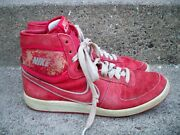 Vintage 1985 Nike Sky Force Hi Top Menand039s Trainers Sneakers Kicks Shoes Size 10.5