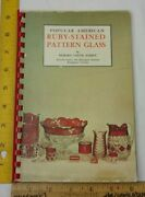 Popular American Ruby-stained Glass Antiques Book Richard Carter Barret 1968
