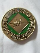 Marine Fighter Attack Training Squadron Vmfat-101 Sharpshooters Challenge Coin