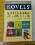 Kovelsand039 Antiques And Collectibles Price List 2006 Color Book