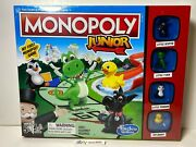 Monopoly Junior Game For 2 To 4 Players Board Game For Kids Ages 5 And Up New