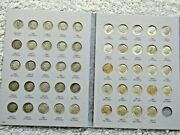 1946 To 1964 Silver Roosevelt Dime Set Lots Of Uncriculated Coins