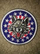 Boy Scout Bsa Type 4 Chicago Wolves Illinois Ice Hockey Council Sport Patch