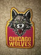 Boy Scout Bsa Type 7 Chicago Wolves Illinois Ice Hockey Council Sport Patch