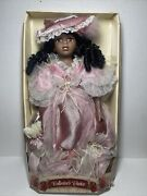 Collectors Choice 17 Htf African American Porcelain Doll/coa And Stand Nrfb