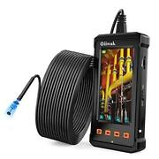 50ft Industrial Endoscope Borescope Camera For Pipe 15m / 50ft Black