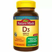 Nature Made Vitamin D3 1000 Iu 25 Mcg Tablets | 300 Count | Pack Of 12