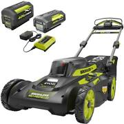 20 In. 40-volt Brushless Lithium-ion Cordless Self-propelled Walk Behind Mower
