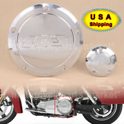 Chrome Cnc Derby Timing Points Cover Fit For Harley Dyna Low Rider Fxdl Breakout