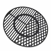 X Home 8835 Cast Iron Grill Grates For Weber 22.5 Inch Charcoal Grills Kettle