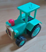 Bob The Builder Travis The Farm Tractor Push Along Friction Toy Vehicle