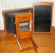 Folmer And Schwing 12x20 Ultra Large Format Banquet Camera With Plate Holder
