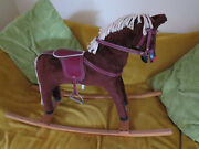 Vintage Childs Toy Traditional Rocking Horse...collectable Really Good Condition