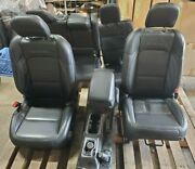 2020 Jeep Wrangler Sahara Front And Rear Seats With Console Leather Oem