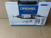 Brand New Ez Twist Dremel Kit W/ 4 Attachments And 36 Accessories In Carrying Case