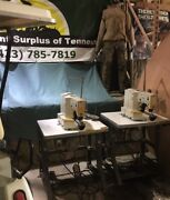 Juki Lk-1852 Industrial Sewing Machine 28 Stitches Stand And Motor