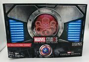Hasbro Marvel Legends Series Red Skull Figure And Electronic Tesseract Sdcc2018