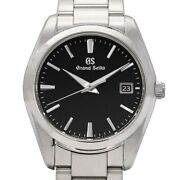 Seiko Grand Heritage Collection Sbgx261 9f62-0ab0 Mens Black Dial With No.9277